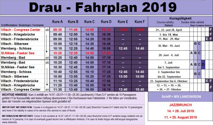FPL Drau 19 - 21.4. - 27.10.