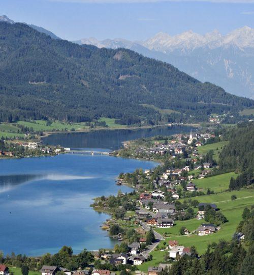 Weissensee Panorama © Weissensee Information