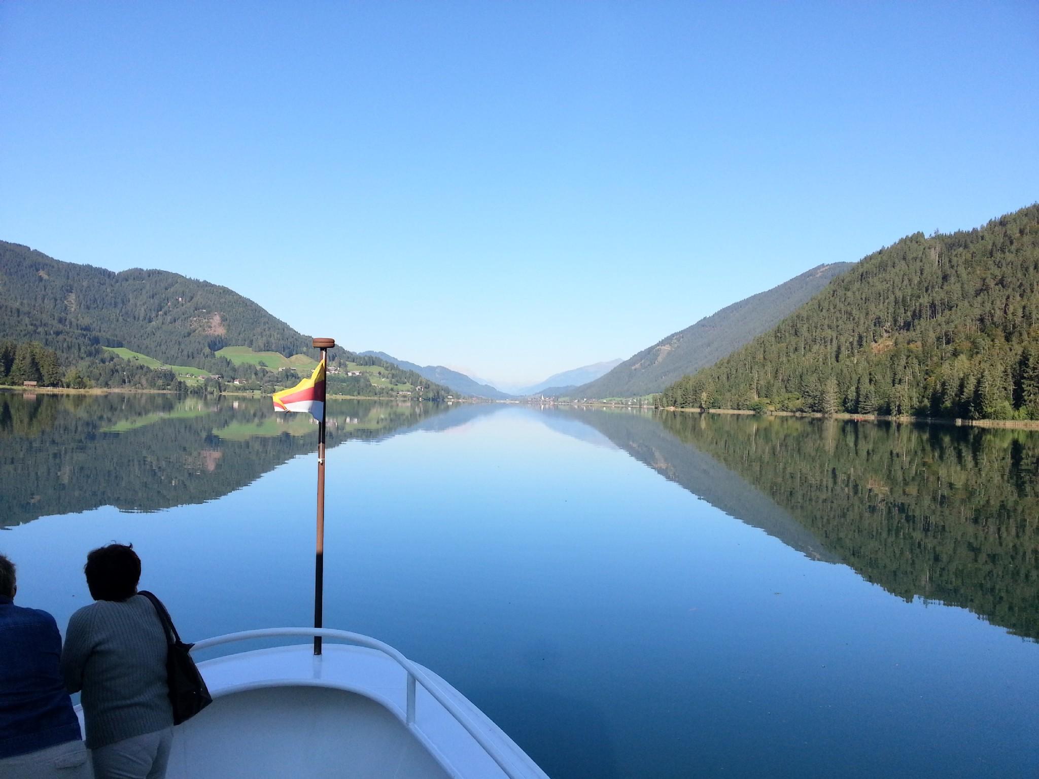 Weissensee Aussicht vom Schiff